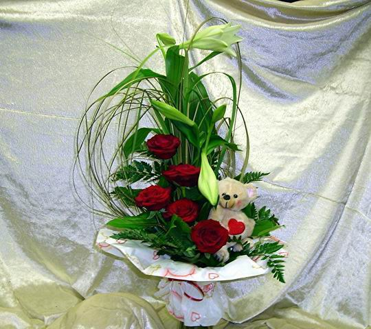 All inclusive Blumenarrangement